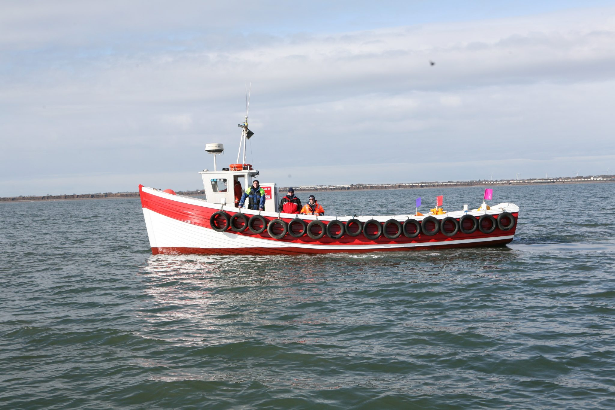 bridlington boat scattering ashes