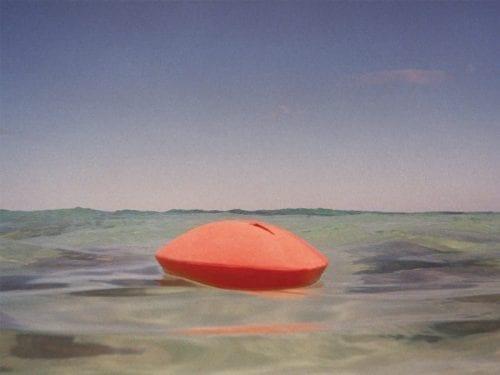 Floating water urn