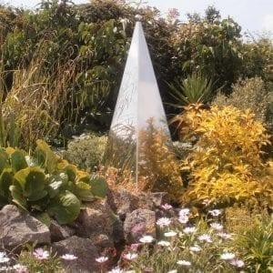 Garden Memorial Sculpture: Pyramis