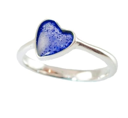 Heart Ring Blue