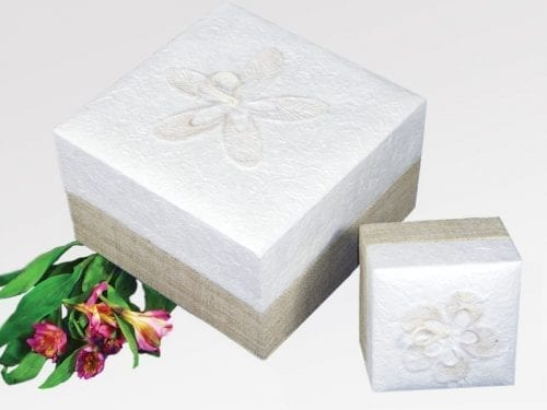 Natural burial urn ashes cremation