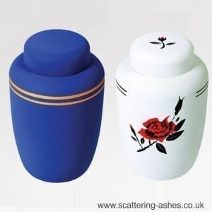 burial bio urn ashes