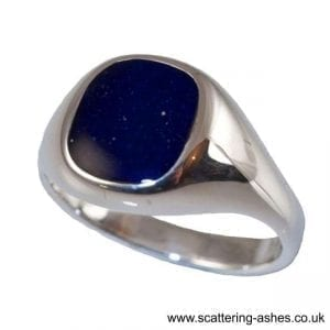 menssignet ring: Ashes into Jewellery UK