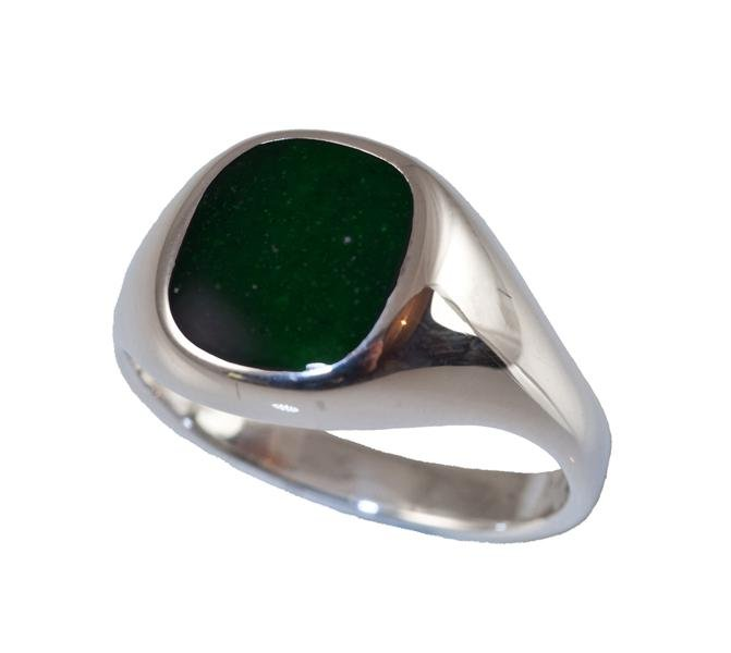 Mens Signet Ring ashes jewellery for men Scattering Ashes