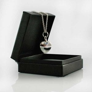 Heart Memorial Pendant - Ashes Jewellery