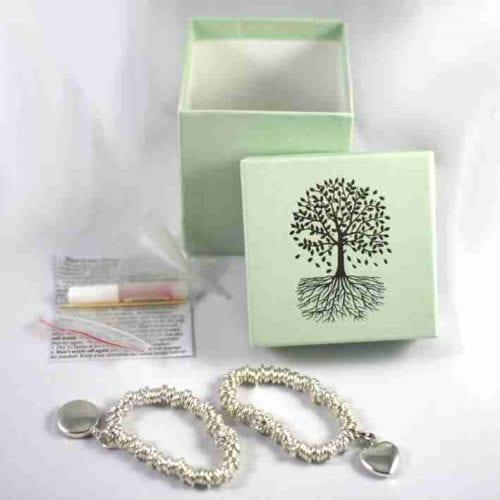ashes in sweetie bracelet