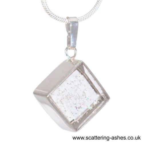 necklace with ashes