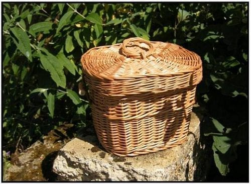 cremation ashes natural burial fairtrade urns