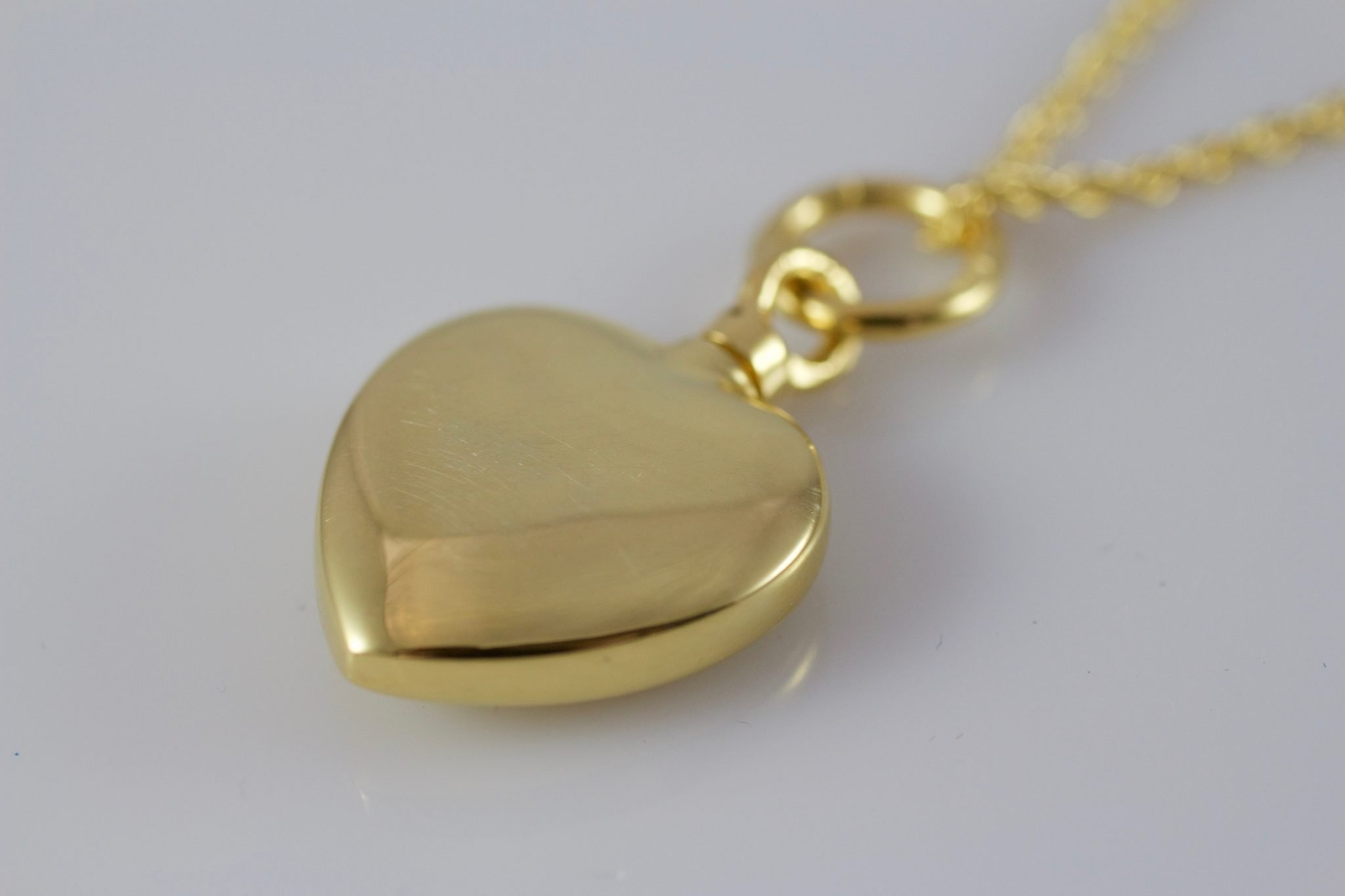 gold memorial rose product necklace pendant with vermeil quote