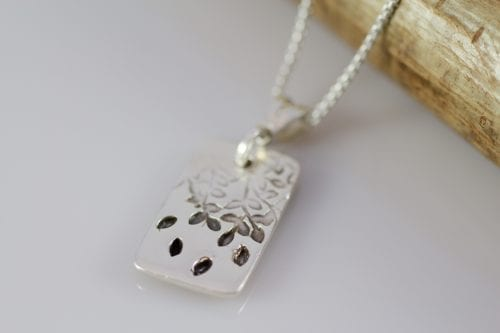 Tree of Life Tag Pendant