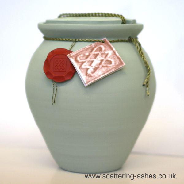 roman water bio urn