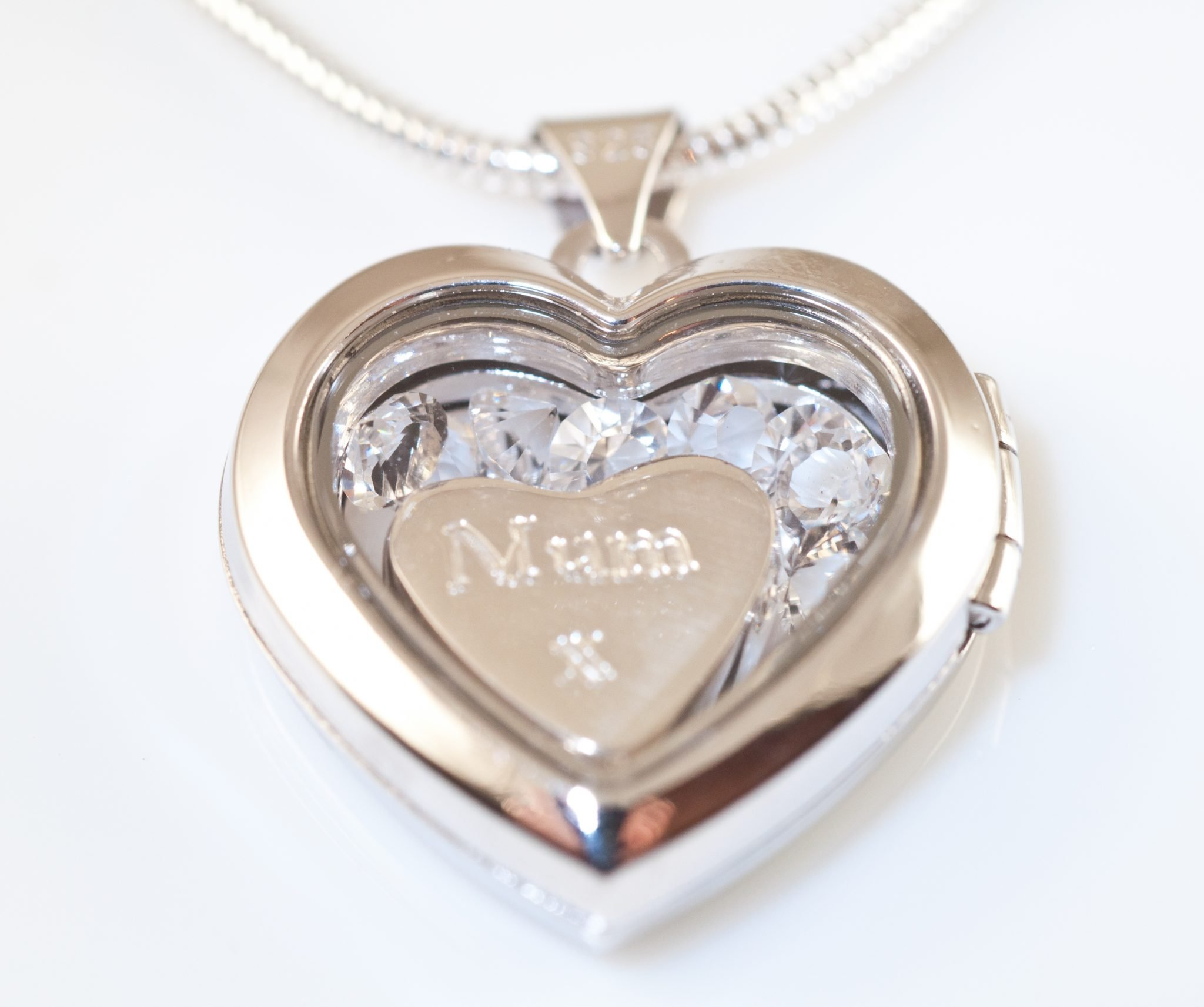 memory mom sam lockets necklace steel for large stainless floating or teardrop products grandma silver locket gift personalized
