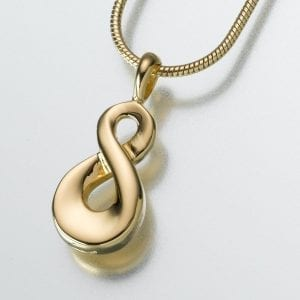 Vermeil Gold Ashes Jewellery Pendant