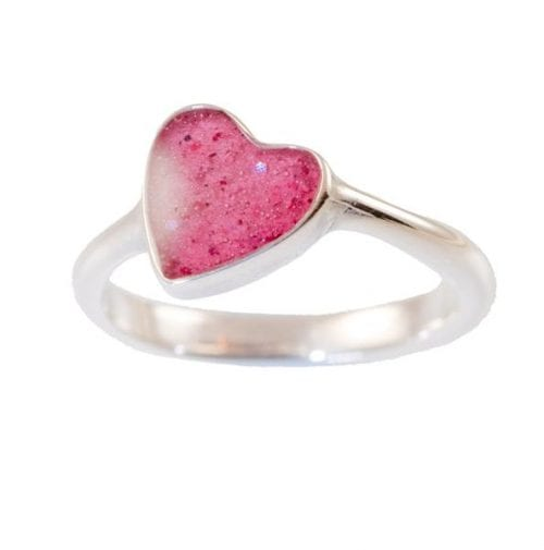 Heart Ring pink