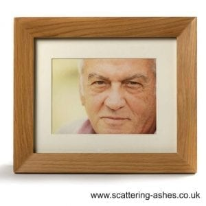 photo frame urn ashes cremation