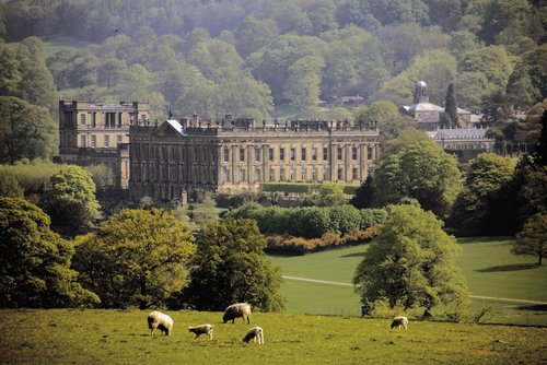 chatworth house derbyshire scattering ashes