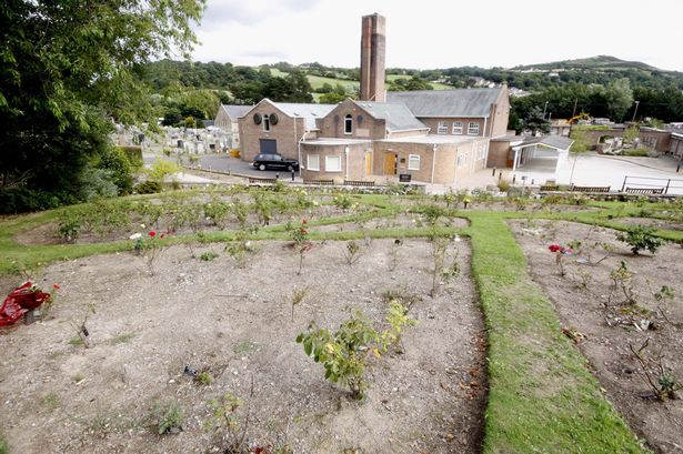 local authority crematoria garden