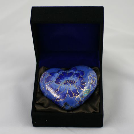 ashes cremation keepsake heart