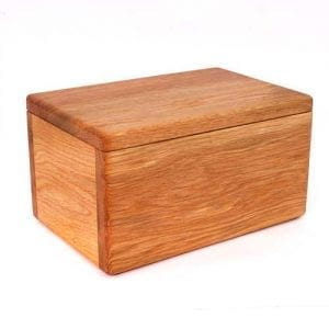 Haytor Handmade wood Ashes Urn