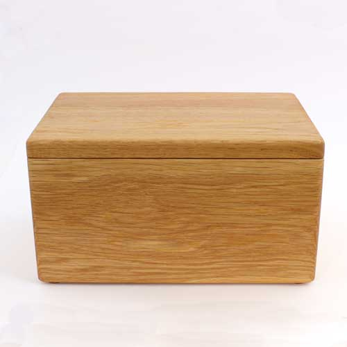 Haytor Handmade wood Ashes Urn