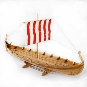 Handmade Viking Longship Water Urn