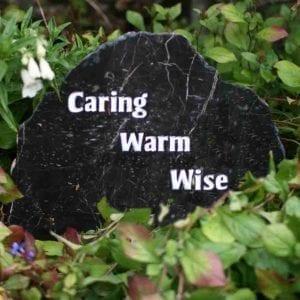 memory stones garden ashes