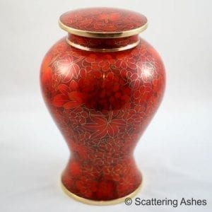 handmade cremation urn ashes