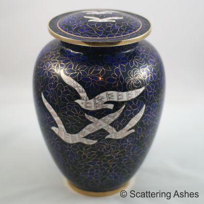 cremation urn ashes casket