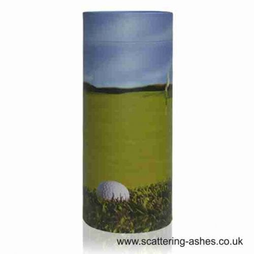 Golfer's Scatter Tube