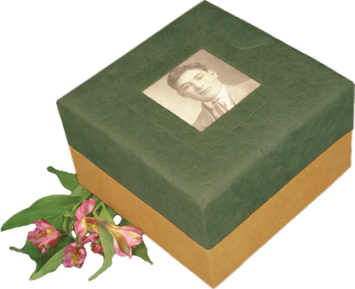 Photo Urns for Natural Burial - Green