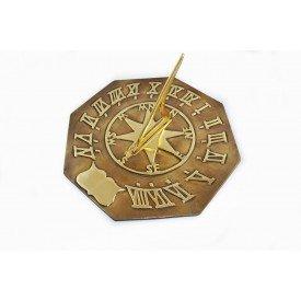 Standard Antique Brass Sundial