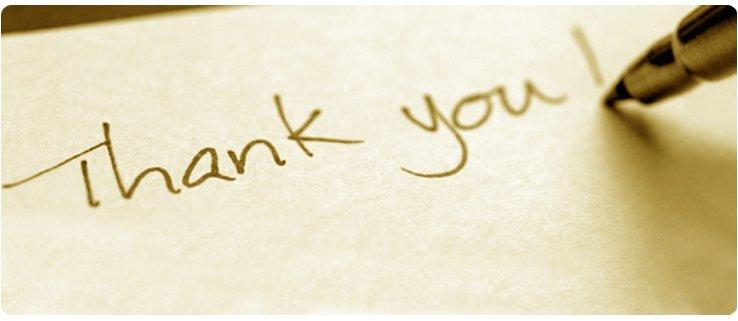 Testimonial - Thank You
