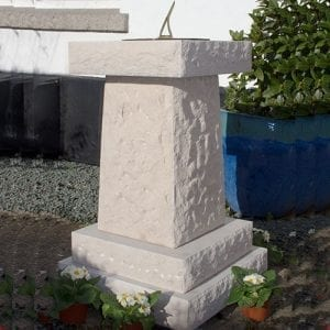 Chatsworth Memorial Sundial in Portland Stone