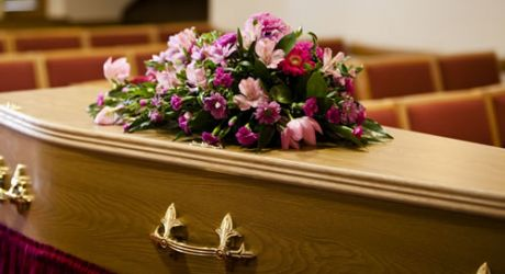 coffin cremated