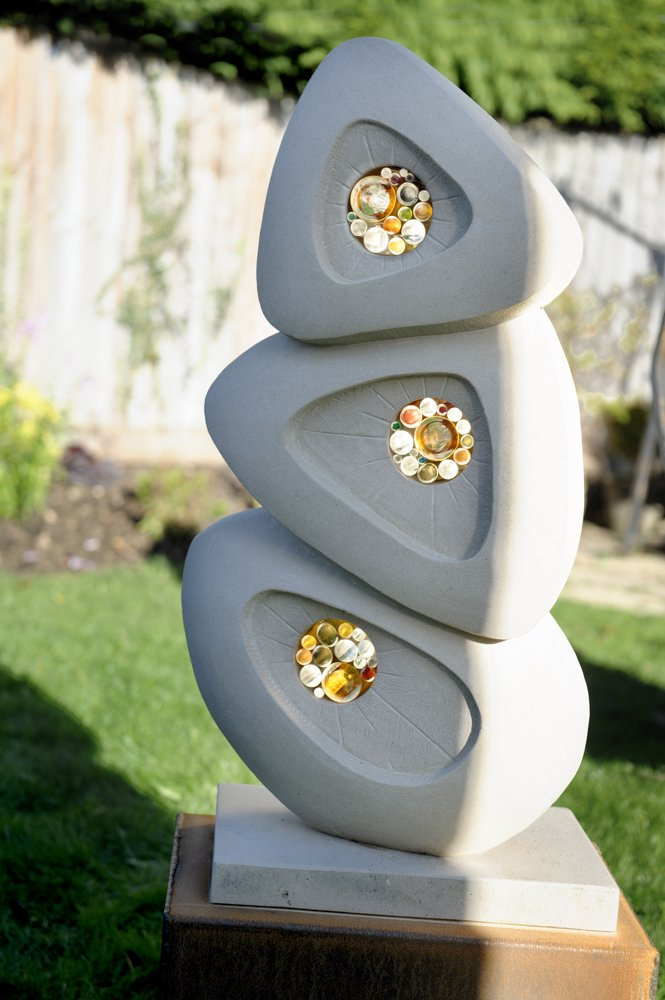 Bespoke Stone Memorials garden sculpture