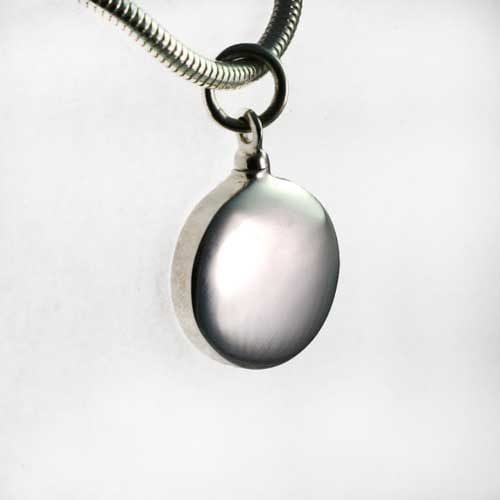 Round charm - ashes Jewellery