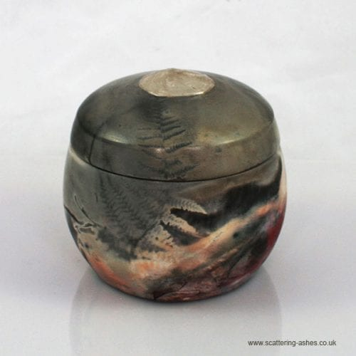 Keepsake Saggar Ceramic Urn small