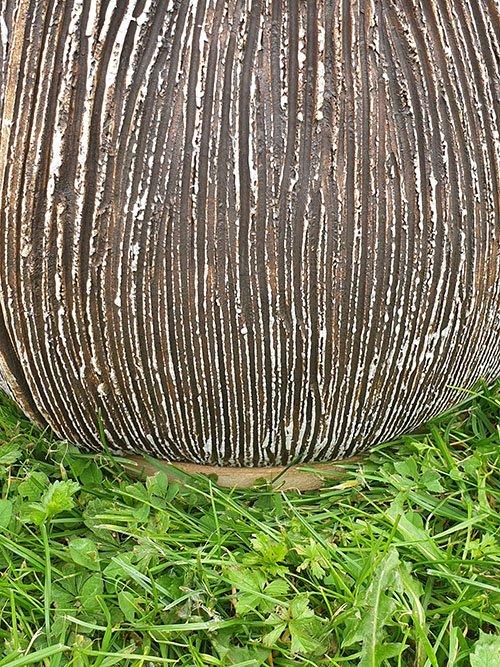 Ceramic Stoneware Garden Memorial Urn