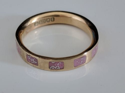 Gold Ashes Ring - Cherished
