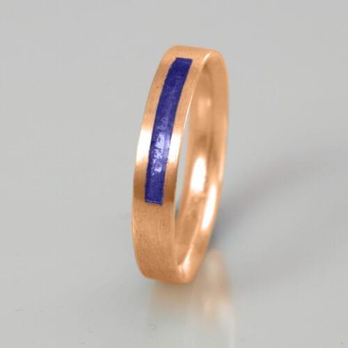 Wedding Band - September Sapphire