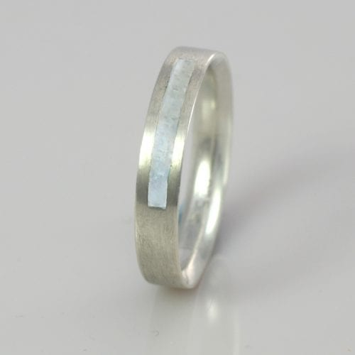 June Pearl Wedding Band