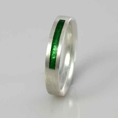 Wedding Band - Peridot, August