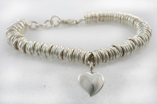 Sweetie Memorial Bracelet - Ashes Jewellery