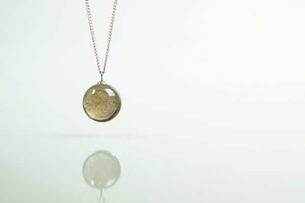 Ashes within Glass Stellar - Ashes into Jewellery UK