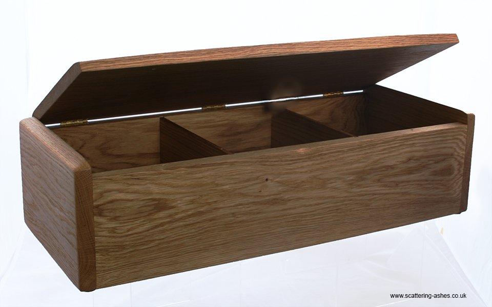 triple teign bespoke wooden urn