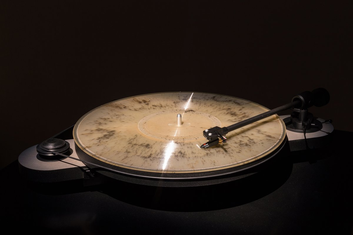 Ashes into Vinyl record