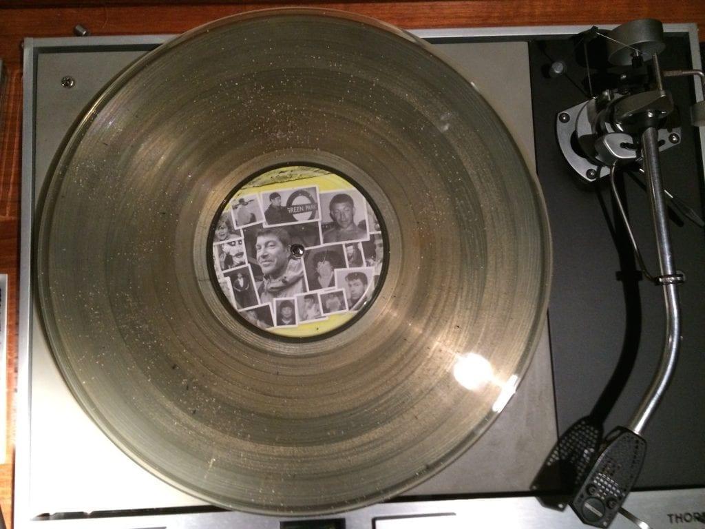vAshes into Vinyl record