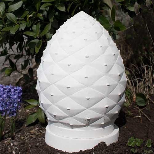 garden memorial urn
