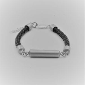 Memorial Leather Bracelet : Ashes into Jewellery UK- Ashes into Jewellery UK