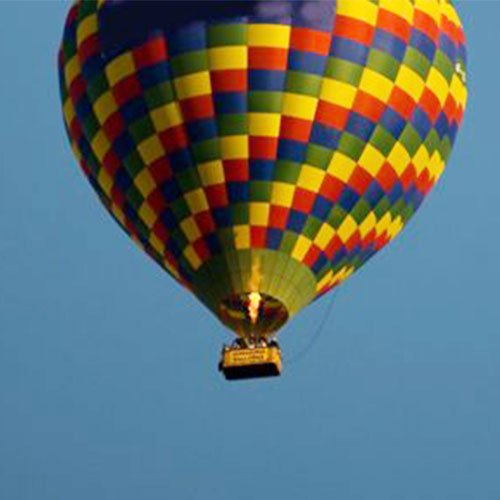 Ashes Sky Ceremony: Hot air balloon